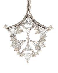 Fernando Jorge - Metallic Diamond, Topaz & White-Gold Earrings - Lyst
