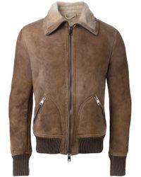 Dacute Natural Bomber Jacket for men
