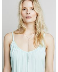 Free People - Blue Imaginary Maxi Slip - Lyst