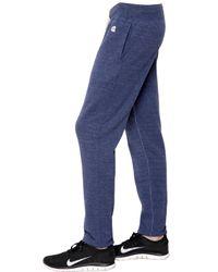 Todd Snyder Blue Cotton Jersey Jogging Pants for men