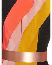 ROKSANDA Multicolor Torsten Sleeveless Panelled Midi Dress