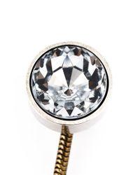 Lanvin | Metallic Pearl Pendant Earrings | Lyst