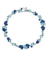 Lord & Taylor | Mixed Blue Stone Bracelet | Lyst
