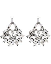DANNIJO | Metallic Capelle Earrings | Lyst