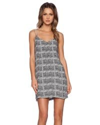 Bella Luxx | Gray Cami Slip Dress | Lyst