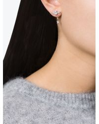 V Jewellery | Metallic Marnie Lobe Earrings | Lyst