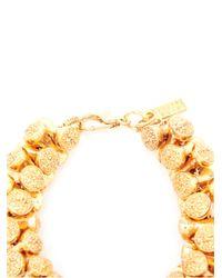 Estelle Dévé - Metallic Meret Goldplated Link Bracelet - Lyst