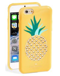 kate spade new york | Yellow 'pineapple' Iphone 6 Case | Lyst