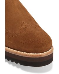 Grenson Brown Jessica Suede Chelsea Boots