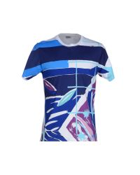 KENZO - Blue T-shirt for Men - Lyst