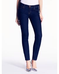 kate spade new york | Blue Broome Street Jean | Lyst