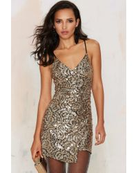 Wyldr | Metallic Moving On Sequin Dress | Lyst