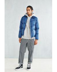 Manastash | Blue Marty Down Jacket for Men | Lyst