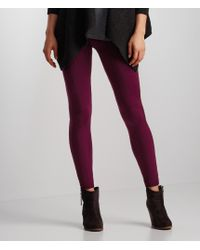 Aéropostale | Red Cabled Seamless Leggings | Lyst
