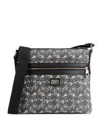 Dolce & Gabbana Gray Medium Fabric Bag for men