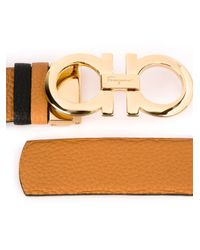 Ferragamo | Brown Gancini Bracelet | Lyst