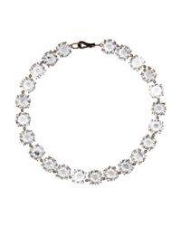 Bottega Veneta | Multicolor Crystal Necklace | Lyst