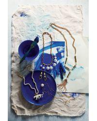 Anthropologie - Metallic Takara Tassel Necklace - Lyst