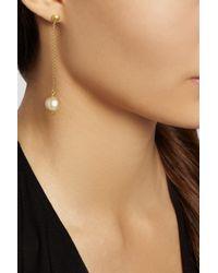 Yossi Harari - Metallic 18-Karat Gold Pearl Earrings - Lyst