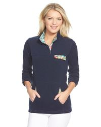 Tommy Bahama | Blue 'aruba' Snap Placket Sweatshirt | Lyst