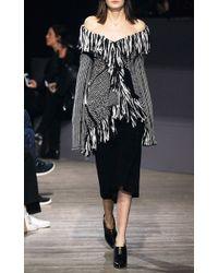 Maiyet | Gray Crocheted Open-Knit Sweater | Lyst