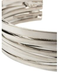 Faith Connexion - Metallic Stacked Bangle - Lyst