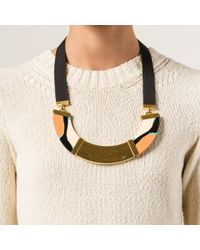 Marni | Green Resin Necklace | Lyst