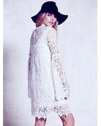 Free People | White Annabelle Dress | Lyst