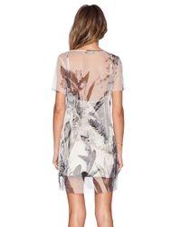Osklen - Multicolor Tulle Patterned Dress - Lyst