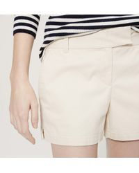 "LOFT - Multicolor Riviera Shorts With 4"" Inseam - Lyst"