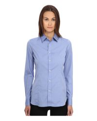 DSquared² - Blue One-button Classic Shirt - Lyst