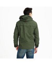 J.Crew Green Hooded Heathfield Jacket for men