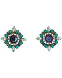 Betsey Johnson   Metallic Betsey & The Sea Starfish Drop Earrings   Lyst