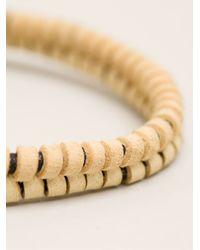 Michael Bastian - Natural Double Strand Bracelet for Men - Lyst