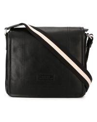 Bally - Black 'terlago' Messenger Bag for Men - Lyst