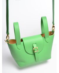 meli melo - Green Thela Mini Bag In Pistachio By - Lyst