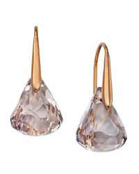 Swarovski | Purple Lunar Drop Earrings | Lyst