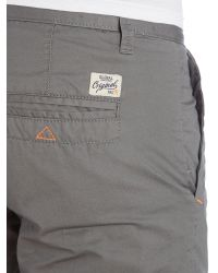Blend | Gray Chino Shorts for Men | Lyst
