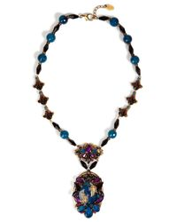 Erickson Beamon | Purple Chinoiserie Necklace | Lyst