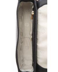 Tory Burch Black Robinson Adjustable Mini Bag