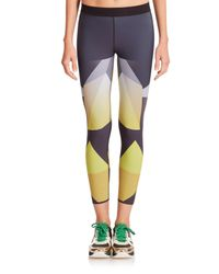 Ultracor | Yellow Sprinter Printed Leggings | Lyst