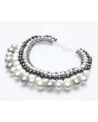 Nakamol - Multicolor Sumptuous Necklace-silver Pearl - Lyst