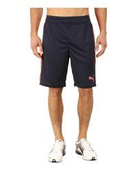 PUMA | Blue Tilted Formstripe Shorts for Men | Lyst