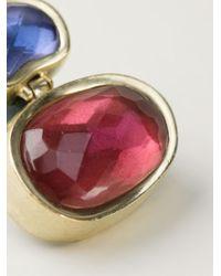 Vaubel - Red Oval Stone Earrings - Lyst