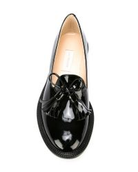 L'Autre Chose | Black Tasselled Loafers | Lyst