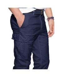 Polo Ralph Lauren | Blue Slim-fit Stretch Cargo Pant for Men | Lyst