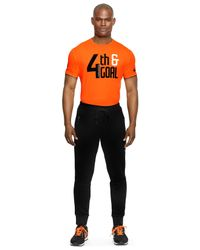 Polo Ralph Lauren | Orange Performance Jersey Graphic T-shirt for Men | Lyst