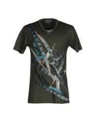 Les Hommes - Green T-shirt for Men - Lyst