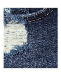 Mother - Blue Denim Easy A Skirt - Lyst