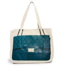 Thursday Friday | Green Teal Diamonds Together Bag | Lyst